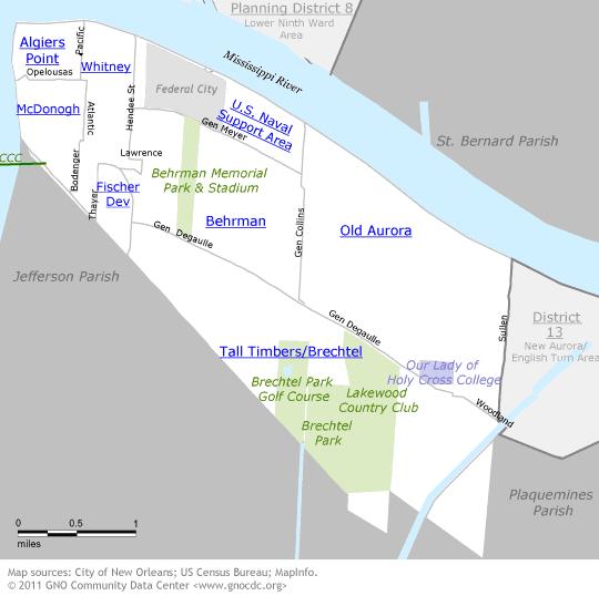 Algiers Map