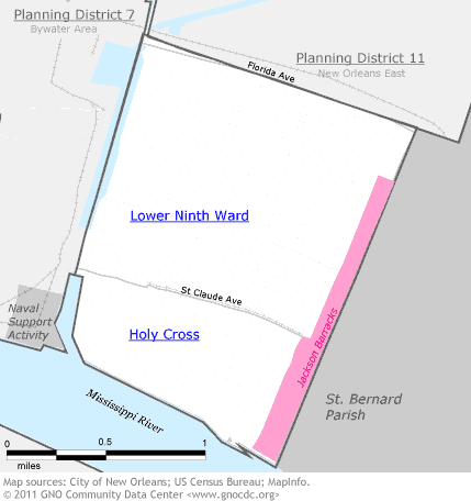 Lower 9th Ward District 8 | The Data Center
