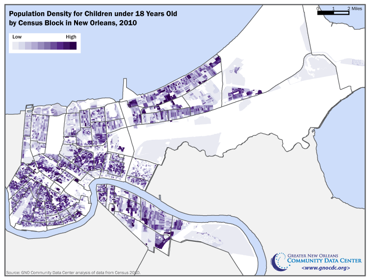 The Loss of Children from New Orleans Neighborhoods | The