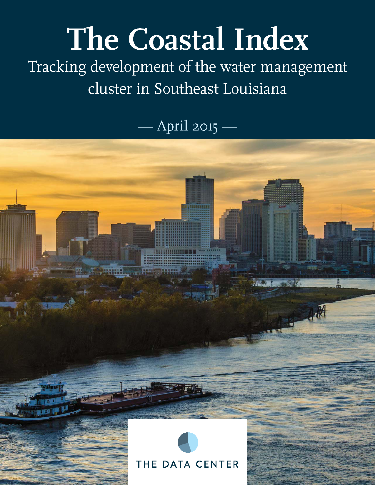 The Coastal Index: Tracking development of the water management cluster in Southeast Louisiana