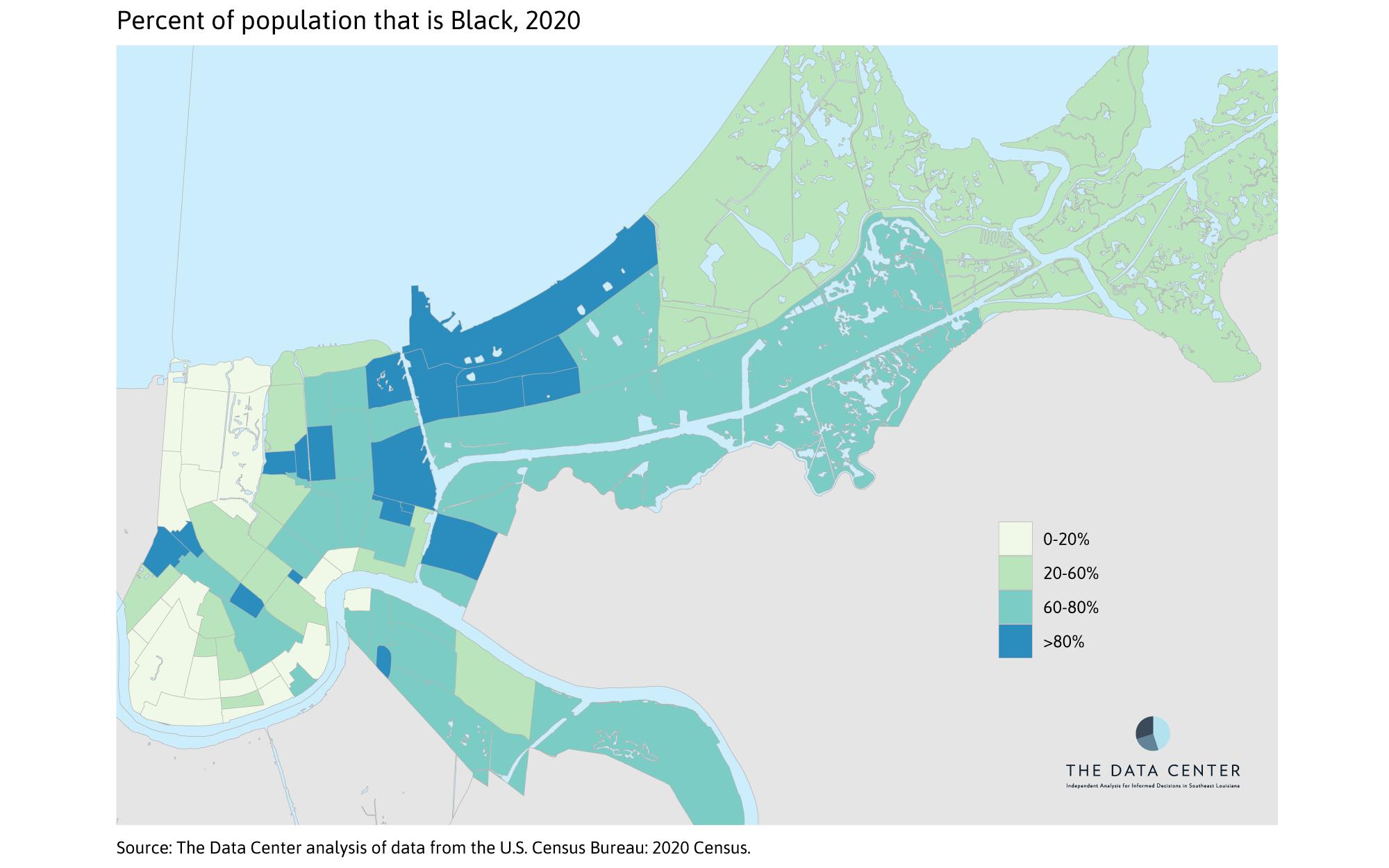 Percent Black 2020